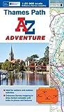 img - for Thames Path Adventure Atlas A-Z 1:25K (A-Z Adventure Atlas) book / textbook / text book