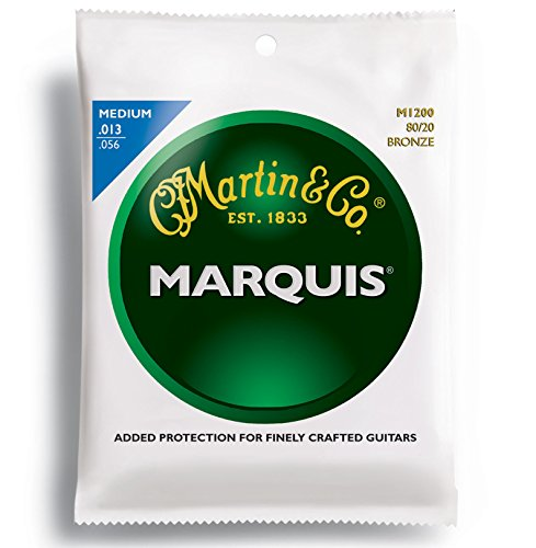 Martin M1200 Marquis 80/20 Bronze Acoustic Strings, Medium (Cf Martin Strings compare prices)