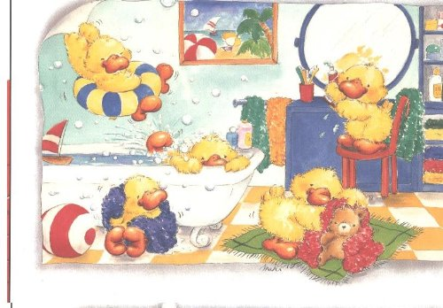 Little Ducks in Bathroom 20 Piece Puzzle Jumbo 208C