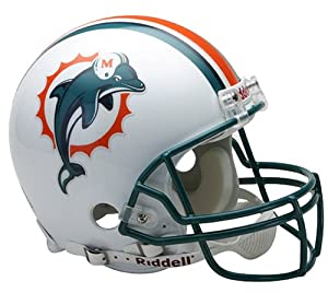 Riddell Miami Dolphins Proline Authentic Football Helmet by Riddell