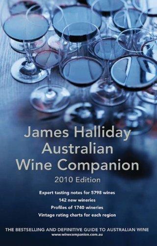 James Halliday Australian Wine Companion: 2010 Edition (James Halliday's Australian Wine Companion)