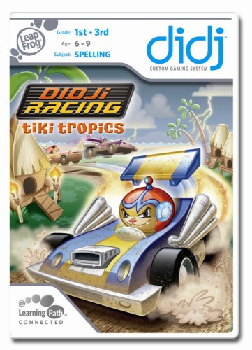 LeapFrog Didj Custom Learning Game Didj Racing Tiki Tropics