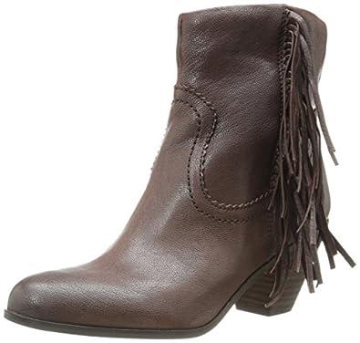 Sam Edelman Women's Louie Boot, Dark Brown Leather, 5 M US