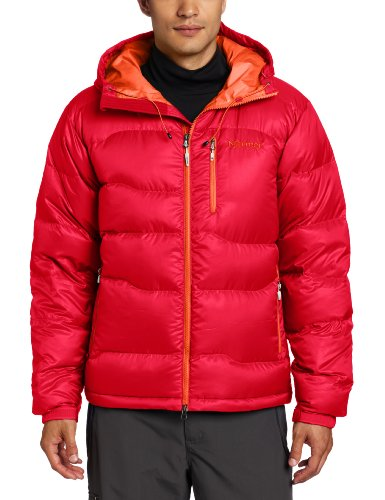 Marmot Men's Ama Dablam Insulated Down Hoody - True Team Red, Small