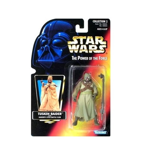 Star Wars: Power of the Force Red Card Tusken Raider Action Figure