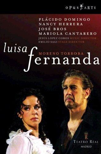 Luisa Fernanda (Domingo,Herrera) - Torroba - DVD