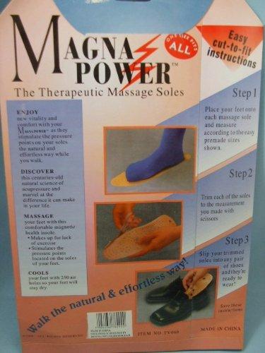 Magna Power, Massaggiatore terapeutico Suole per scarpe da uomo, one_size