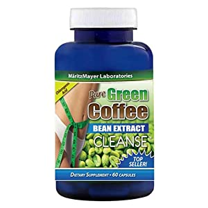 Amazon.com: Pure Green Coffee Bean Extract CLEANSE 60 capsules (1): Health & Personal Care