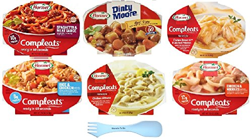 hormel-compleats-microwavable-bowls-variety-6-pack-bundle-with-bonus-fork-spoon-combo