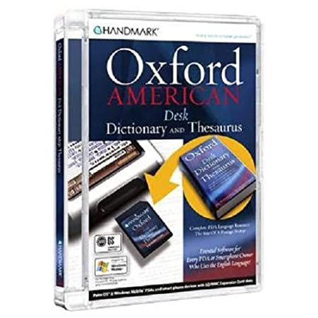 Handmark Oxford American Dictionary and Thesaurus SD/MMC Card