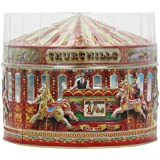 Churchill's Carousel Tin with Dairy Toffees & Vanilla Fudge 400 g