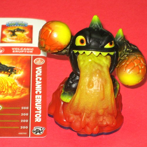 Skylanders Swap Force LOOSE Figure Volcanic Eruptor