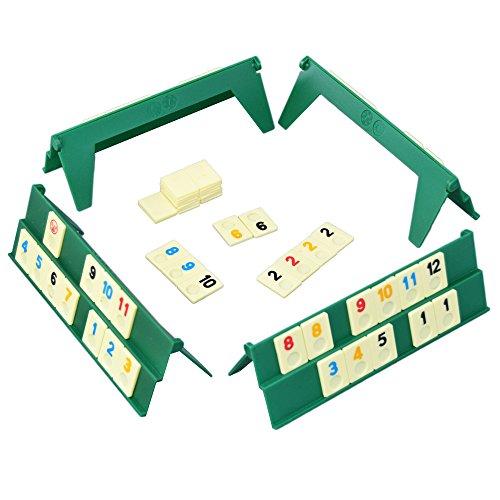 Happytime (NEW) ポータブル カード麻雀 ポケットゲーム Rummyラミィ 知育 ゲーム おもちゃ おすすめボードゲーム