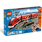 Lego - 7938 - Jeux de construction - lego city - Le train de passagers