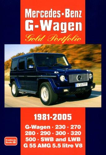 Mercedes-Benz G-Wagen Gold Portfolio 1981 - 2005 (Motor Books)