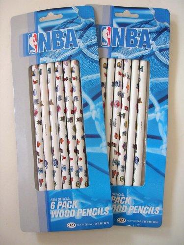 12 pcs NBA Wood Pencil set : School Accessory - Buy 12 pcs NBA Wood Pencil set : School Accessory - Purchase 12 pcs NBA Wood Pencil set : School Accessory (National Design, Toys & Games,Categories,Arts & Crafts,Pencils & Erasers)