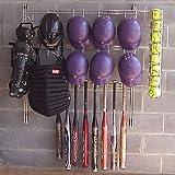 Dugout Organizer Rack - Softball - Baseball by Kaspar Wire Works