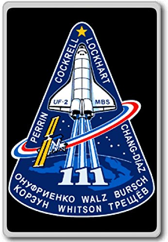 STS-111 Space Shuttle Patches (2001-2011) Insignia fridge magnet (Space Shuttle Magnet compare prices)