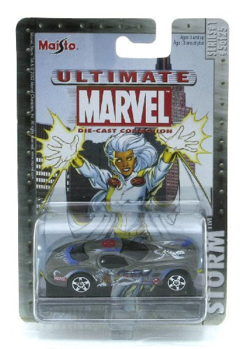 Marvel Ultimate Die Cast Collection Series 1: Storm Chrysler Atlantic Die Cast Car - 1