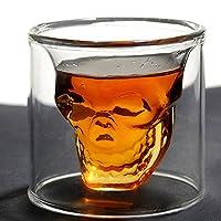 Hayabusa TM AutoM Fantastic Crystal Design Head Vodka Skull Face Bone Glass Bottle Decanter Empty Bar Line 250ML from haya