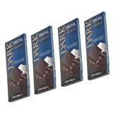 Wolfgang Special Reserve Belgian Bars, Dark Chocolate with Exotic Sea Salt (4 Pack)