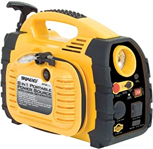 Rally 7471 Portable 8 in 1 Power Source and Jumpstart Unit