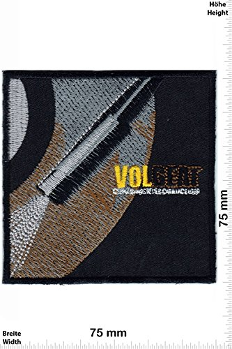 Patch - Patch -VOLBEAT - MusicPatch - Rock - Chaleco - toppa - applicazione - Ricamato termo-adesivo - Give Away