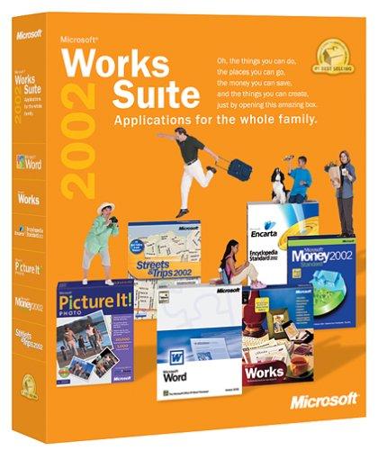 Microsoft Works Suite 2002 [Old Version]