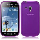 Coque Ultra Fine en Gel Flex TPU pour Samsung Galaxy TREND - Collection Transparent - Violet par PrimaCase