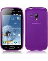 Coque Ultra Fine pour Samsung Galaxy Trend S7560 en Transparent Violet par PrimaCase