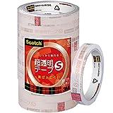 3M スコッチ 超透明テープS 15mm×35m 芯76mm 10巻 工業用包装 BK-15N