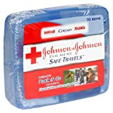 Johnson & Johnson First Aid Kit, Safe Travels (Pack of 2)