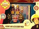 Fireman Sam - Figure & Accessory Pack includes Fireman Sam, Norman Price & Working Fireman's Pole!