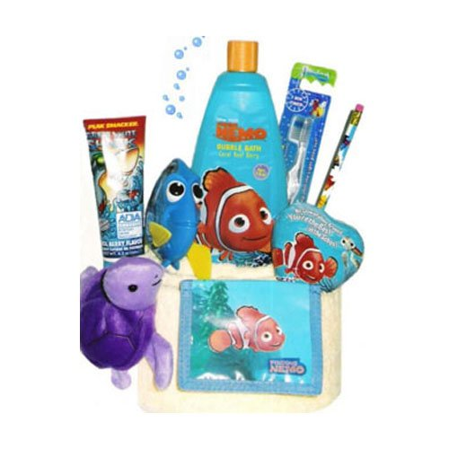 Finding Nemo Bath Towel Set: Low Price Finding Nemo Towel Cake For Girls And Boys