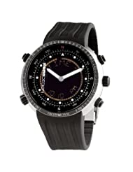 Momo Design Men's Watch Black Dial Diver Explorer Digital MD182-EXP-RB-01BK