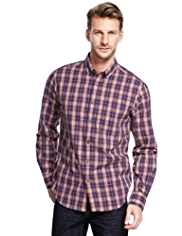 Pure Cotton Easy Care™ Checked Shirt