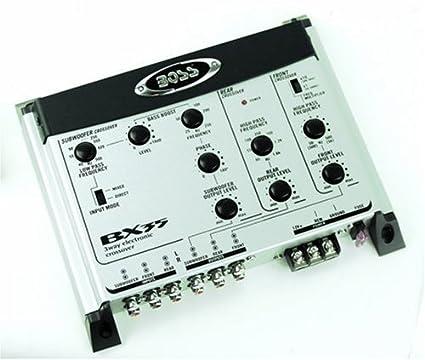 3Way électronique crossover de caisson de basses &d'entrée/sortie