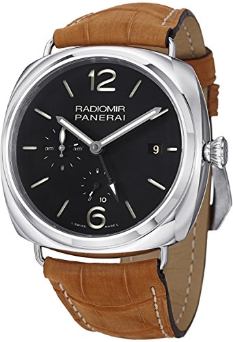 Panerai Men'S Pam00323 Radiomir Analog Display Swiss Automatic Brown Watch