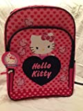 Hello Kitty 16 Double Pocket Backpack