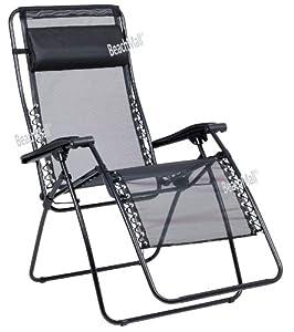 lafuma rsx xl zero gravity lounge chair garden outdoors. Black Bedroom Furniture Sets. Home Design Ideas