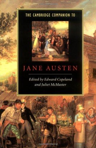 Image for The Cambridge Companion to Jane Austen (Cambridge Companions to Literature)
