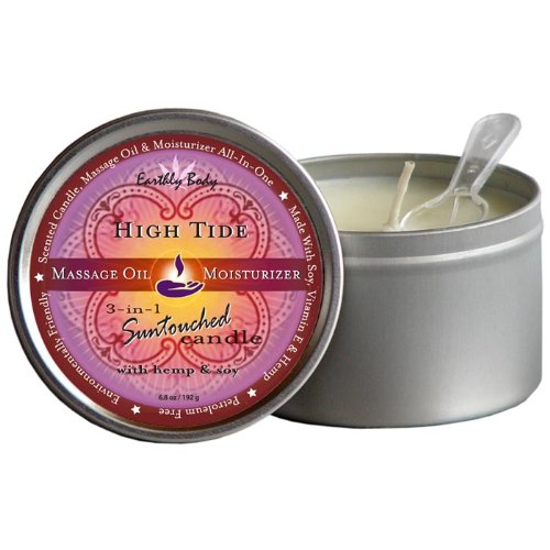 Earthly Body Suntouched 3-in-1 Massage Candle - High Tide