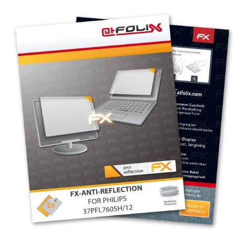 atFoliX Schutzfolie Philips 37PFL7605H/12 Folie Displayschutzfolie - FX-Antireflex blendfrei