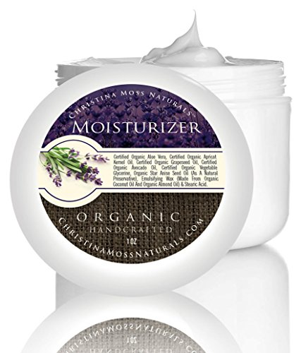 Facial Moisturizer - Organic & 100% Natural - Best Facial Moisturizer for Sensitive, Oily or Severely Dry Skin - Anti-Aging Moisturizing Cream - For Women - For Men - Wont Dry Your Skin Or Leave It Oily - Moisturizes & Softens While Repairing Damaged Skin - No SLS - No SLES - No Parabens - No PG or PG Derivatives - No Synthetic Fragrance or Harmful Chemicals - Every Jar Made by Hand - Satisfaction GUARANTEED or Your Money Back - Digital How To Guide For Two Natural DIY Facial Masks & Basic Skin Care Included With Your Purchase.