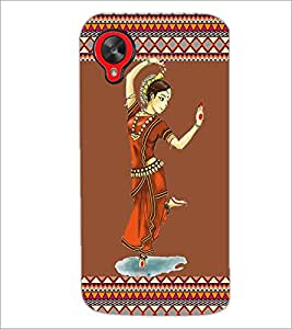 PrintDhaba Dance D-2525 Back Case Cover for LG GOOGLE NEXUS 5 (Multi-Coloured)