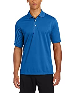Adidas Golf Mens Climalite Solid Jersey Polo by adidas