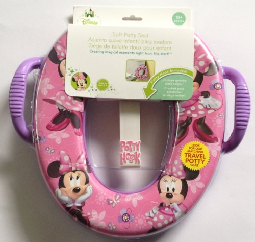 Disney Minnie Mouse Potty Seat with Hook, Pink, Girl