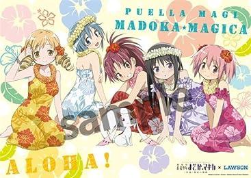 魔法少女まどか☆マギカ ハワイ A3クリアポスター ローソン 店舗限定 C88