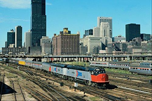 788068-amtrak-emd-frp-45-no-626-leaving-chicago-illinois-usa-a4-photo-poster-print-10x8