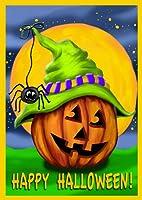Toland Home Garden Halloween Hitcher Garden Flag 111227 by Toland Home & Garden